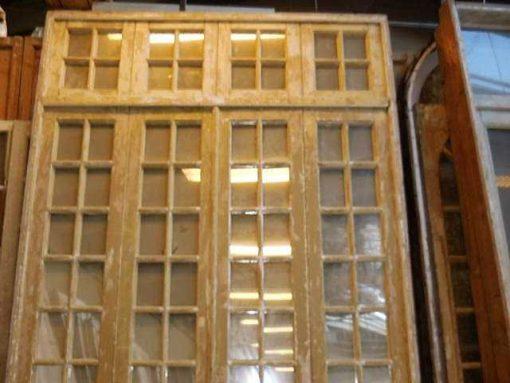 Antieke oranjerie / 4-slag deuren met spiegels-2