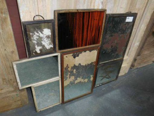 Patchwork of antique mirrors-1