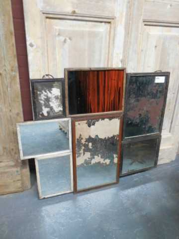 Patchwork of antique mirrors-2