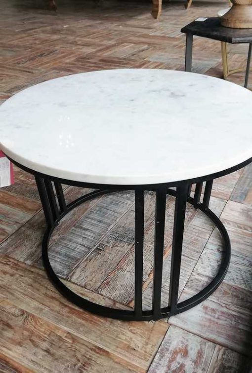 Round coffee table-1