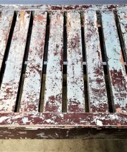 Vintage wooden bench / table-2