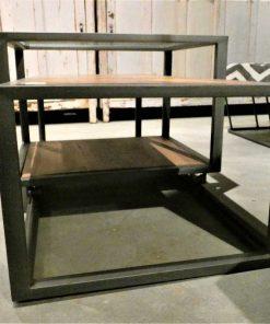 Strakke salon tafel met verschuifbaar blad-2