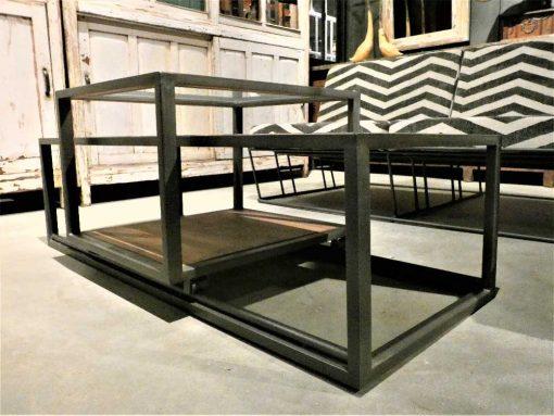 Strakke salon tafel met verschuifbaar blad-3