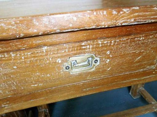 Solid wood sidetable-4