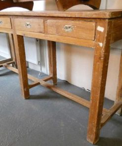 Solid wood sidetable-5