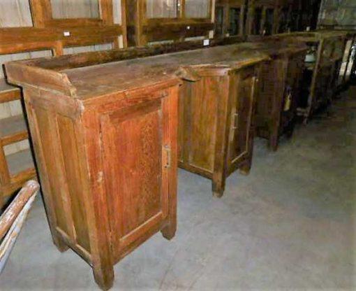 Antique barber / hairdresser's furniture