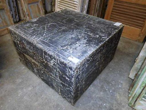 Industrial square coffee table-2