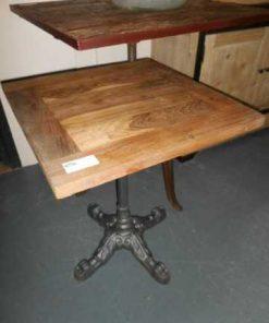 Square bistro table-1