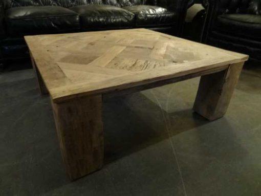 Oak inlay coffee table-1
