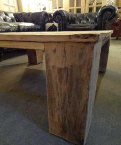 Oak inlay coffee table-2