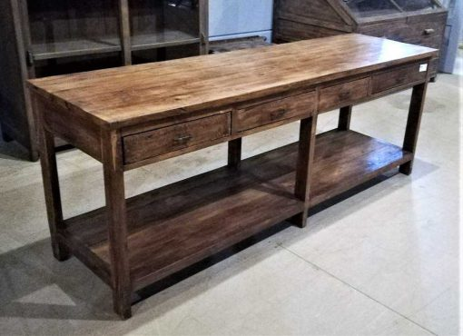 Antique sideboard / sidetable with drawers-3