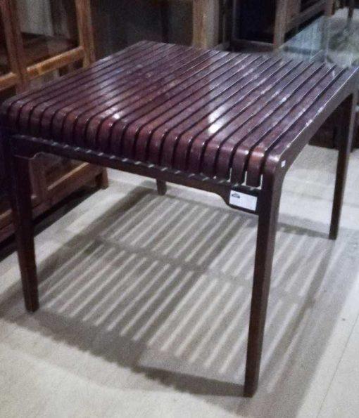 Vintage square table-3