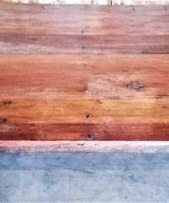 Low vintage coffee table-1