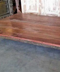 Low vintage coffee table-3