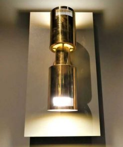 Antique bronze wall lamp-1