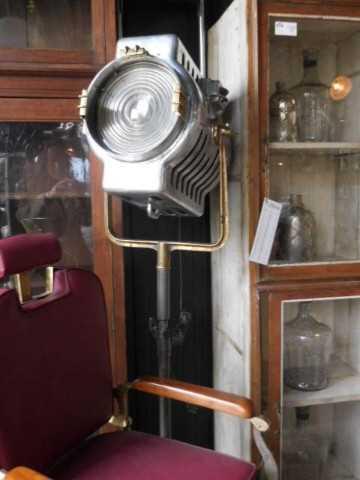 Opgeknapte industriele antieke lamp-1