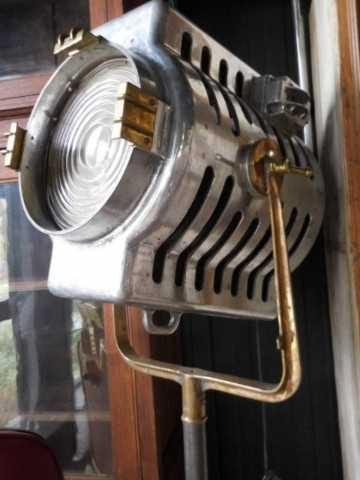 Opgeknapte industriele antieke lamp-2