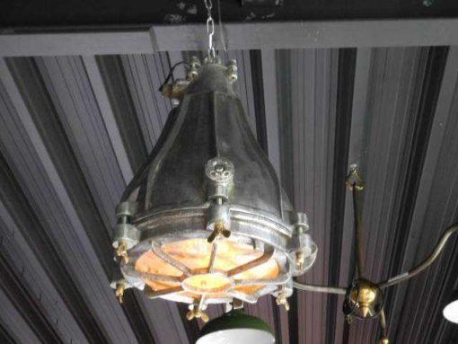 Antique refurbished industrial lamp-1