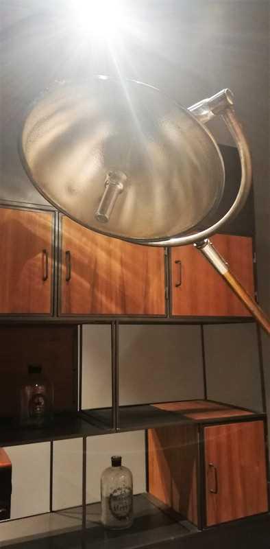 Vintage Opgeknapte Operatie Lamp-2