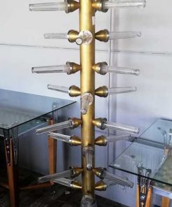 Unieke Vintage Staande Lamp-1