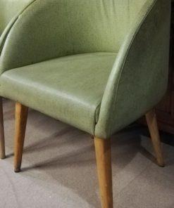 Vintage Groene Stoelen-1