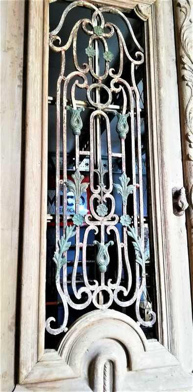 Antique French Style Outside Doors With Bronze-3