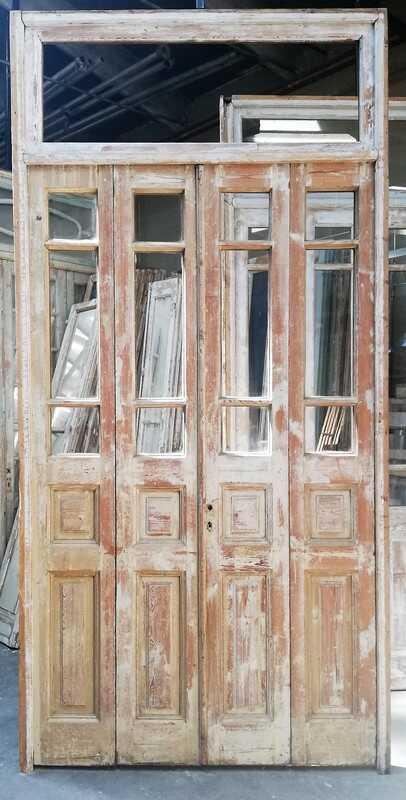 Antique 4-stroke Doors / Orangery Door With Glass-1
