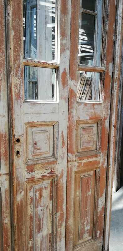 Antique 4-stroke Doors / Orangery Door With Glass-3