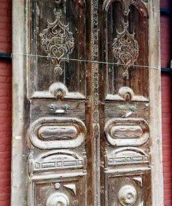 Antique Wooden Outside Doors-1