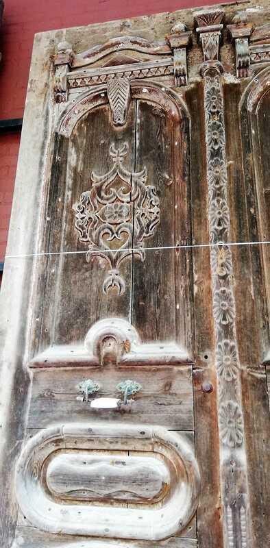 Antique Wooden Outside Doors-5