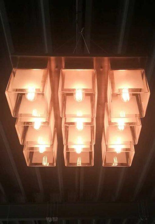 Antique Art Deco Ceiling Light-1