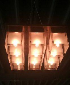 Antique Art Deco Ceiling Light-2