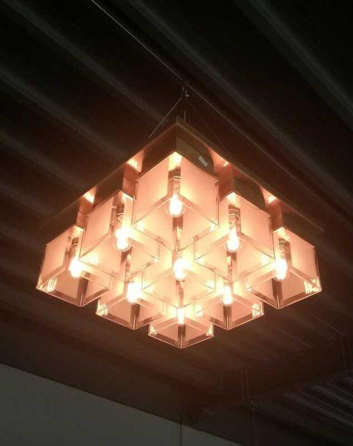 Antique Art Deco Ceiling Light-3