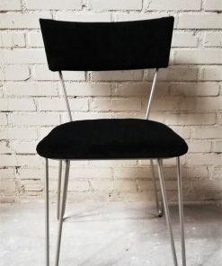 Dining Black Metal Chair - 1