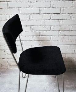Dining Black Metal Chair - 2