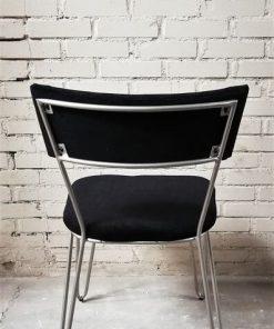 Dining Black Metal Chair - 3