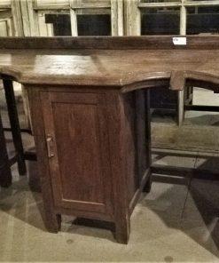 Oude Enkele En Dubbele Werktafel Van Goudsmid - 3