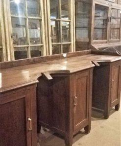 Oude Enkele En Dubbele Werktafel Van Goudsmid - 5