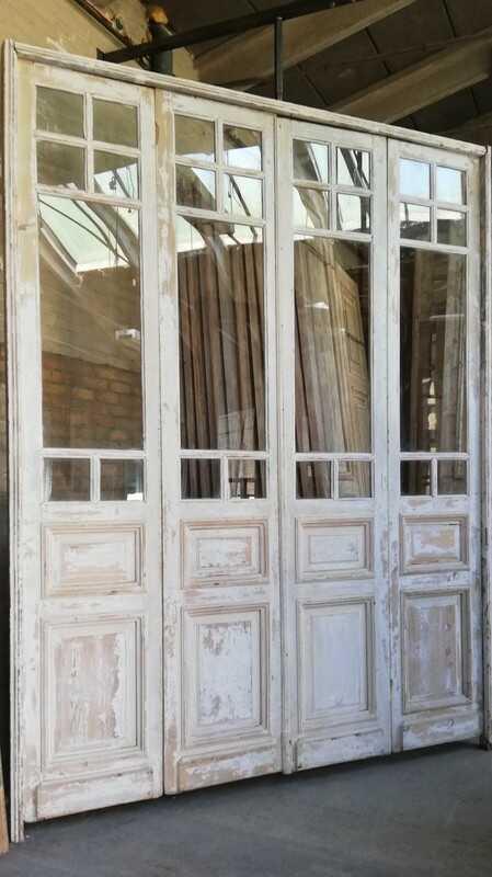 Antique White Orangery Door / 4-stroke Doors - 1