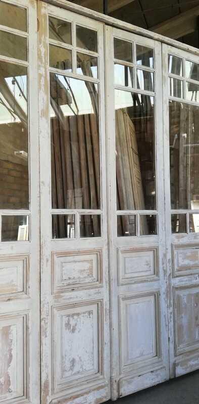 Antique White Orangery Door / 4-stroke Doors - 2