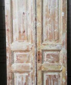 Antique Double Panel Doors - 1