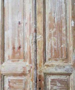 Antique Double Panel Doors - 2