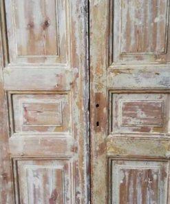 Antique Double Panel Doors - 3