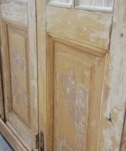 Antique 4 Stroke Doors With Checkers - 3