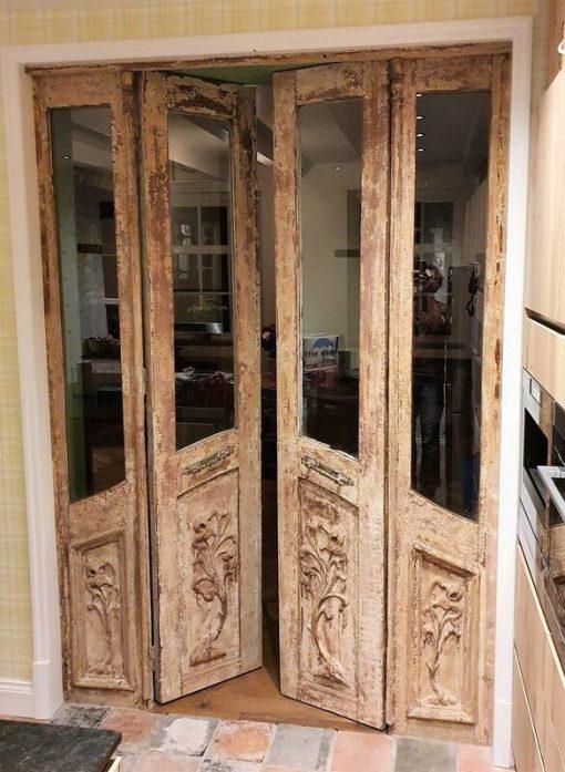 Antique Machined 4-stroke Doors - 1