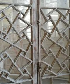 Antique Window Frame With Mirrors - 2