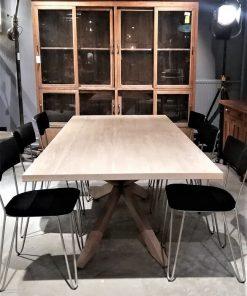 Acacia Natural Color Dining Table - 2