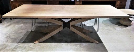 Acacia Natural Color Dining Table - 4