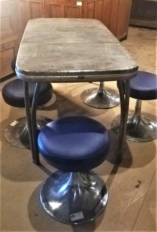 Vintage Metalen Tafel - 2