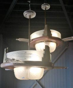 Antieke Art Deco Lamp - 2